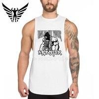 Muscleguys Tank Top Odzież Siłownie Golds Siłowni Podkoszulek Kulturystyka Fitness Mężczyzn Koszulki Bez Rękawów Regatas Masculino Mens T-Shirt