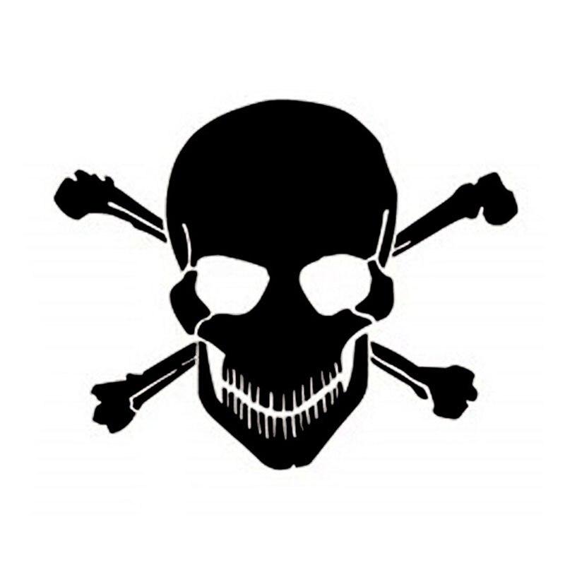 ᗑ11*10 cm Phantom Ghost Rider cráneo Etiquetas de coche auto ...