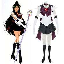 Сейлор Мун Super S Внешний Senshi Сетсуна Meiou Битва Ver. сейлор плутон cosplay костюм делюкс fancy dress хеллоуин костюмы