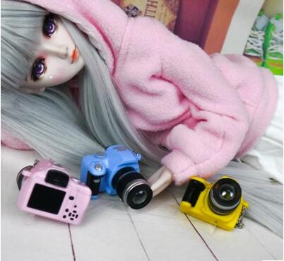 1Pc DIY Camera For BJD Doll 1 / 6 Bjd Sd Pullip Blyth Doll Accessories Fashion Camera For 30cm Doll Photography Props
