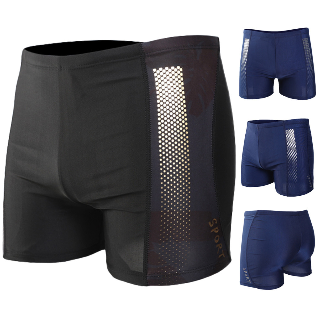 All Styles You Want! Waterproof Swimwear Men Tie Rope Flat Angle Swimsuit Swimming Trunks For Bathing Man Swimming Shorts