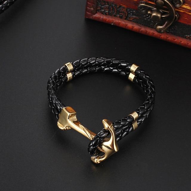 Bracelet Couple Ancre