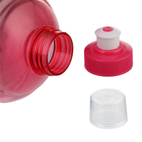 1000Ml Creative Plastic Barreled Sealing Water Bottles Handle Portable Students Water Jug For Traveling Biking Camping Islamabad