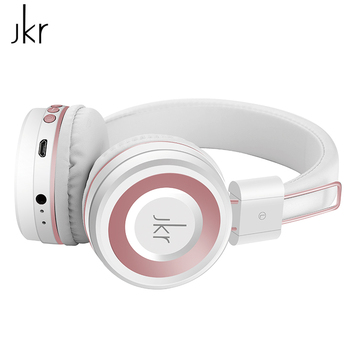 JKR 210B Hifi Audio Auricular Cordless Wireless Bluetooth Headphones For Phone Headsets Player Earphone Stereo Music With Mic magnetic attraction bluetooth earphone headset waterproof sports 4.2