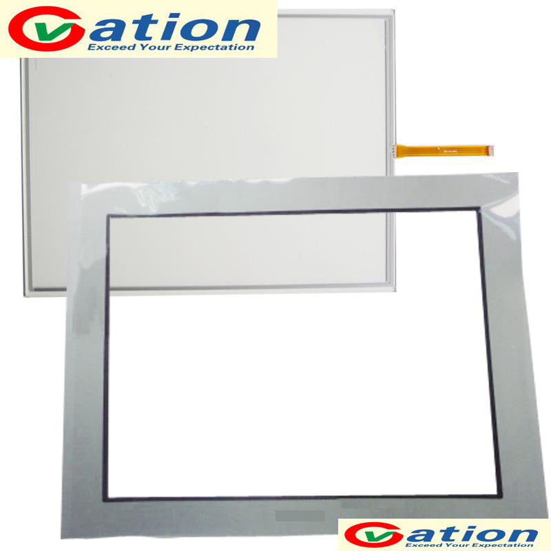 FOR AGP3750-T1-AF AGP3750-T1-AF-M AGP3750-T1-D24 Touch Screen +Protective Film touch screen glass panel for agp3500 sr1 agp3500 t1 af agp3501 t1 d24