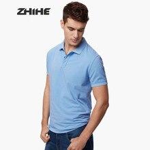 7a4d223d7b Tamanho bassics 3-10 Novos homens chegada do verão camisas pólo cor 100%  malha de algodão Casual Camisa Camisa cor Clássica