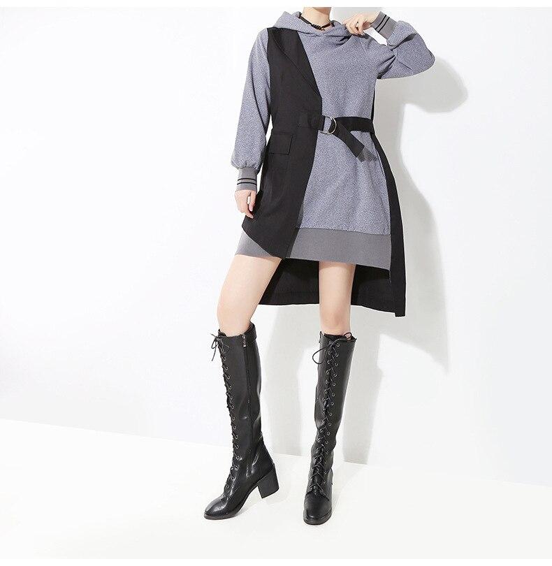 Grande taille Vente Régulière O-cou Droit Naturel L'ukraine Zanzea Femmes de Livraison Gratuite Froid 2019 Coréenne Nouveau Chic robe à manches longues