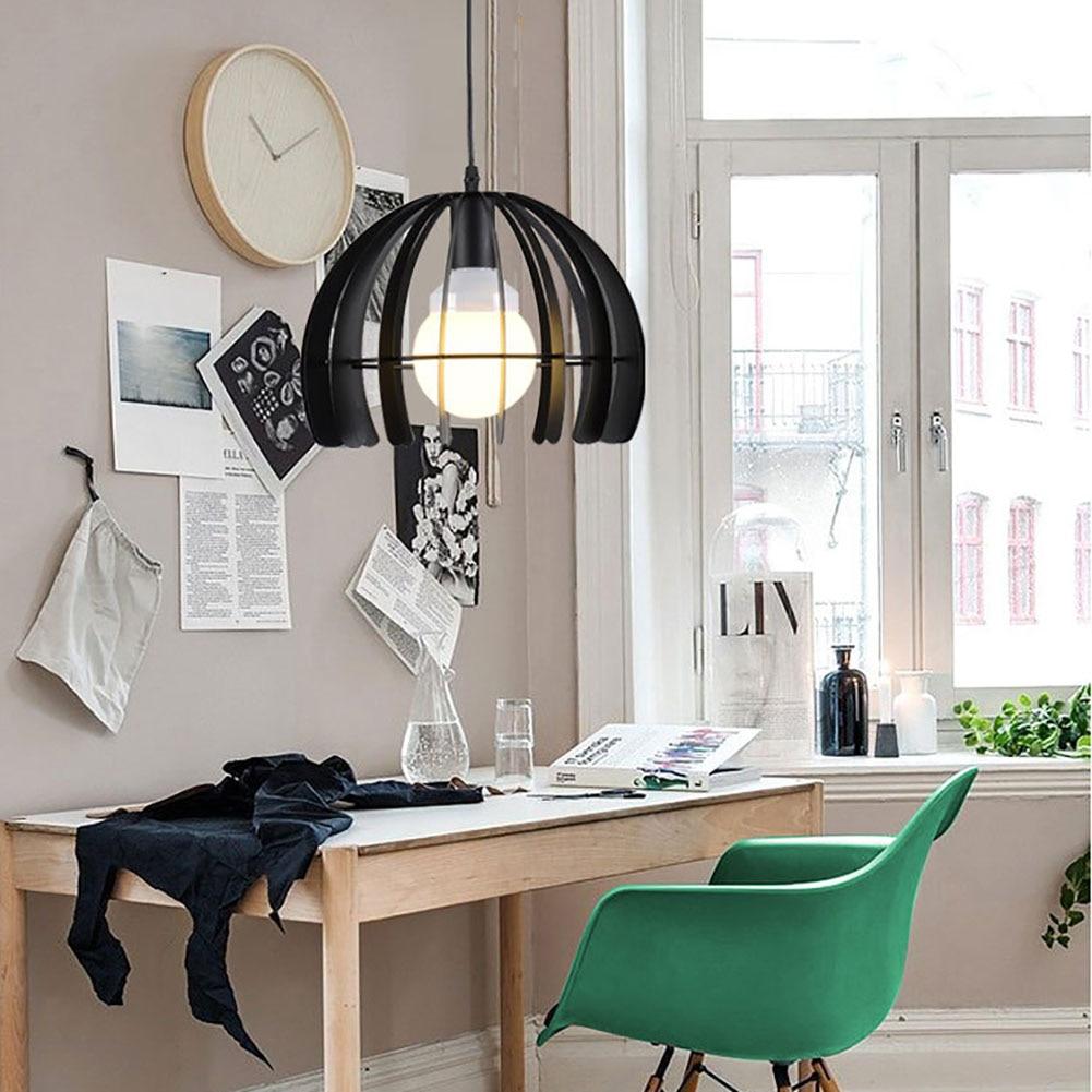 Vintage industrial metal pumpkin pendant lights fixtures for cafe bar dining room restaurants kitchen lighting decor gift