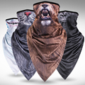 Long quick-dry Animal Mask Hood Mask anti-Wind Sand Breathable Men And Women Outdoor Riding Collar Sleeve Towel Fashion