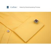 Alimens & Gentle Mens French Cuff Dress Shirt Long Sleeve 3