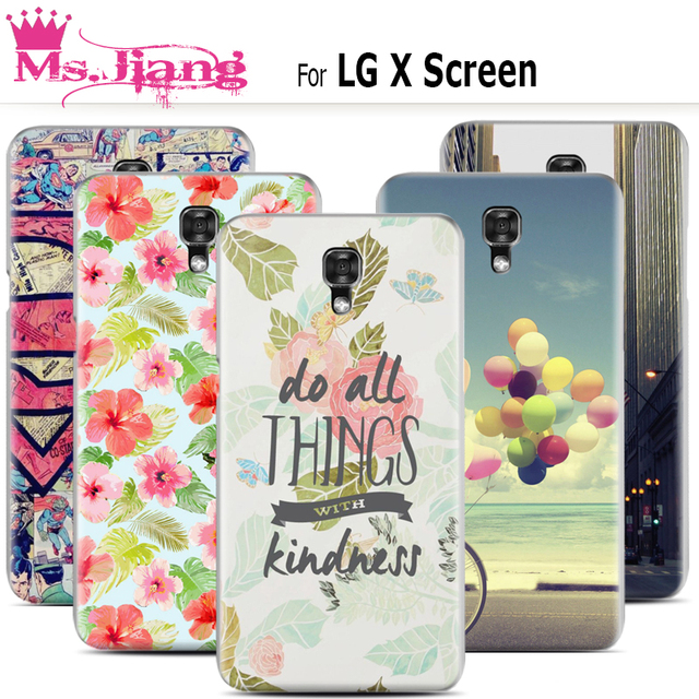 online store e2ba7 b6f5a US $9.98 |For LG X Screen case ,New Fashion Paint Hard Plastic Phone Case  For fundas LG x screen K500Y mobile Shell Covers Flip accessorie-in ...