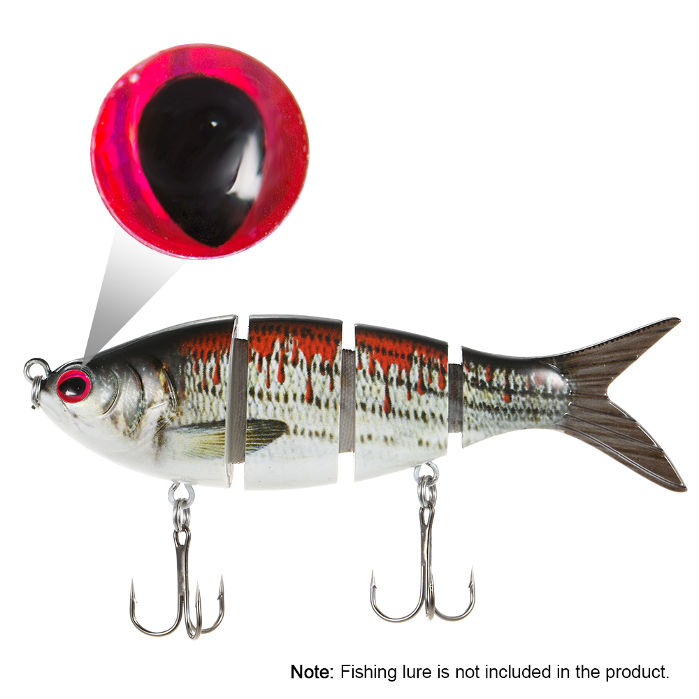 Eyes Fishing Lure Holographic Fishing Eyes Fly Tying Fishing Lure Eyes 5mm Red Carp Fishing Accessories Pesca Tackle Fishing Lures Aliexpress