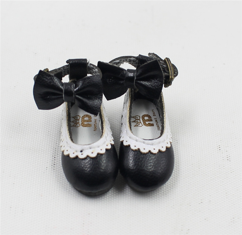 Neo Blythe Doll Designer Shoes with Bow 5