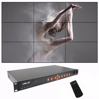 LINK MI TV09 Video Wall Controller Processor For 3x3 LCD Full HD Video Wall Controller 1920x1080