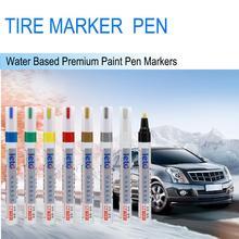 Шпатлевка корпуса, краска, маркер, ручки, водонепроницаемая Перманентная ручка, подходит для автомобильных шин мотоцикла, протектора, резины, металла, Caneta Risco Carro