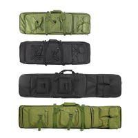95cm/120cm Tactical Padded Gun Case Shooting Gun Bag Hunting Gear Military Bag Hunting Gun Accessories Carrying Storage Holster