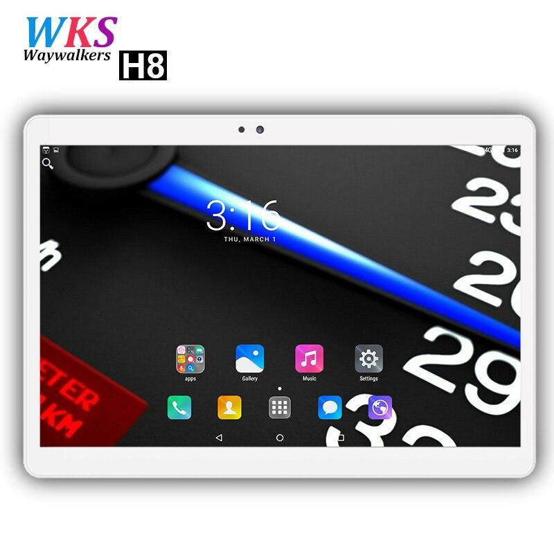 10 pouce tablet PC 10 Core Android 7.0 RAM 4 gb ROM 64 gb Dual SIM Carte 1920x1200 IPS WIFI Bluetooth 4g LTE téléphone comprimés PC MT6797