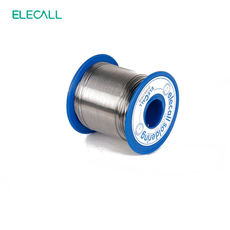 ELECALL New Arrival 63/37 Tin 2.0mm 450g Rosin Core Tin/Lead 2.0mm Rosin Roll Flux Reel Lead Melt Core Soldering Tin Solder Wire qitian b5510200g lead tin soldering wire wick roll silver
