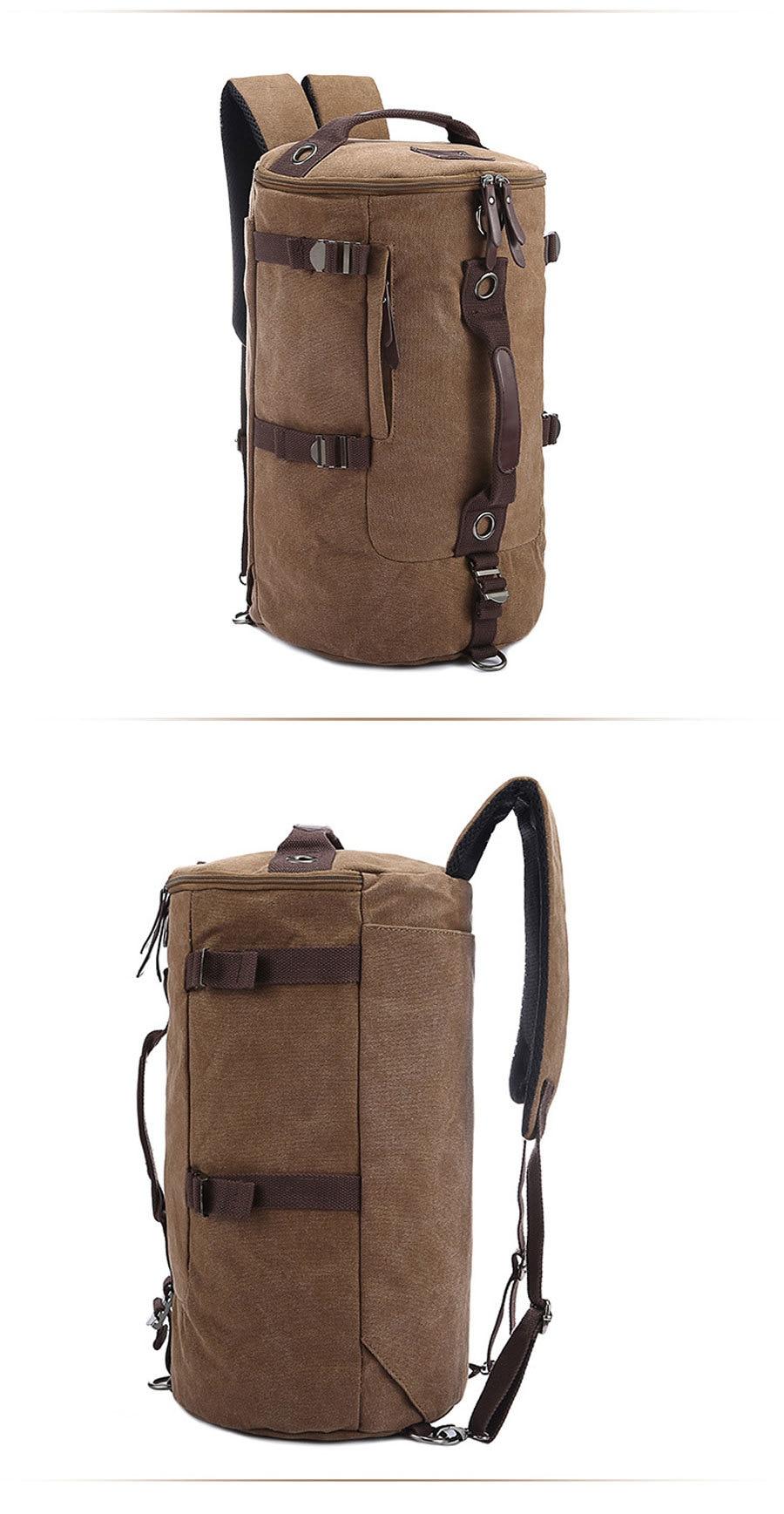 Canvas Duffel Backpack