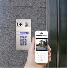 wireless IP video door phone for house use door access smartphone video