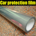 "Free shipping 60x152CM (24""x60"")/LOT Transparent Car Protective Sticker/Auto Paint Protection Vinyl Foil"