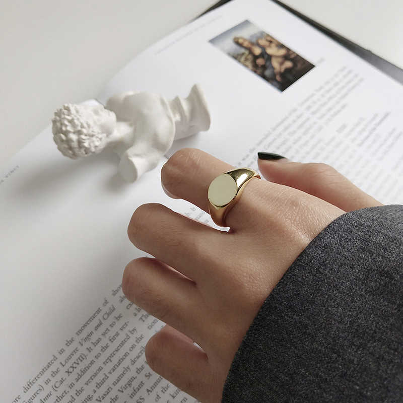 Peri'sBox 925 เงินสเตอร์ลิงซ้อนทับได้สำหรับสตรี Band ปรับ Layering แหวนบุคลิกภาพ Mujer