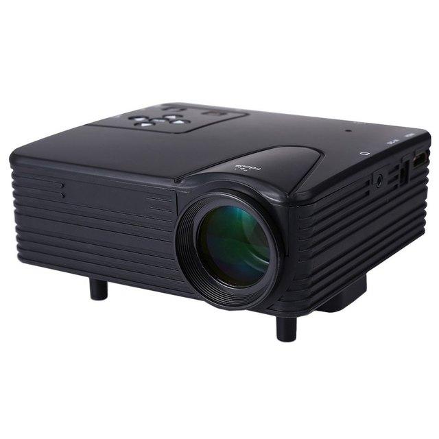 """Nueva 100 """"Portátil LED Pico Proyector Home Cinema Teatro 80 Lúmenes Soporte HDMI/AV/VGA/USB/SD Mini Proyector Soporte 3D Rojo y Azul"""