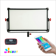 CAME TV Boltzen Perseus RGBDT 150 vatios luz LED delgada P 150R + control remoto inalámbrico