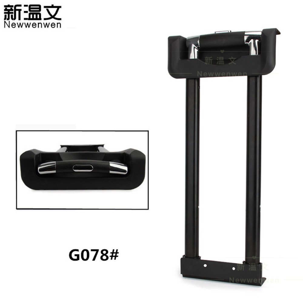Repair Luggage Telescopic Trolley Handle Luggage parts Handle Replacement Luggage Handle,Handles for Suitcases G078# high quality luggage accessories replacement external rod handles for suitcases flat carry suitcase grip luggage handle b095