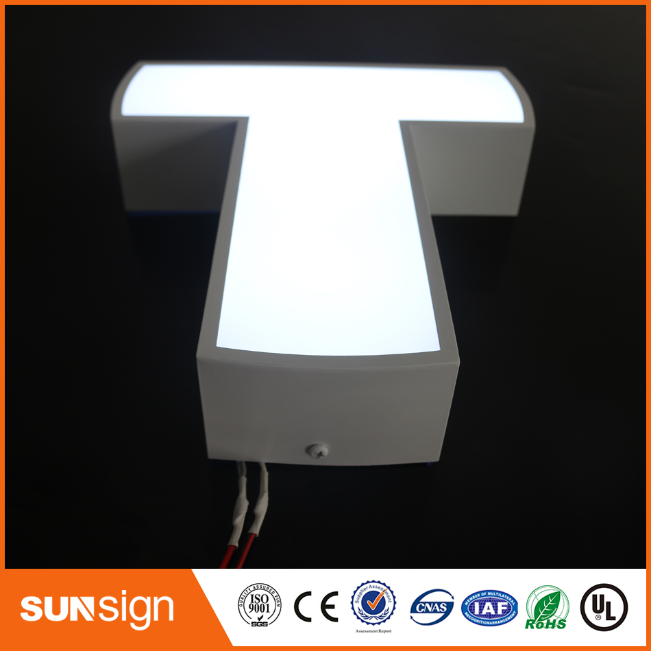 2017 Hot Sale Customized Frontlit Channel Letters