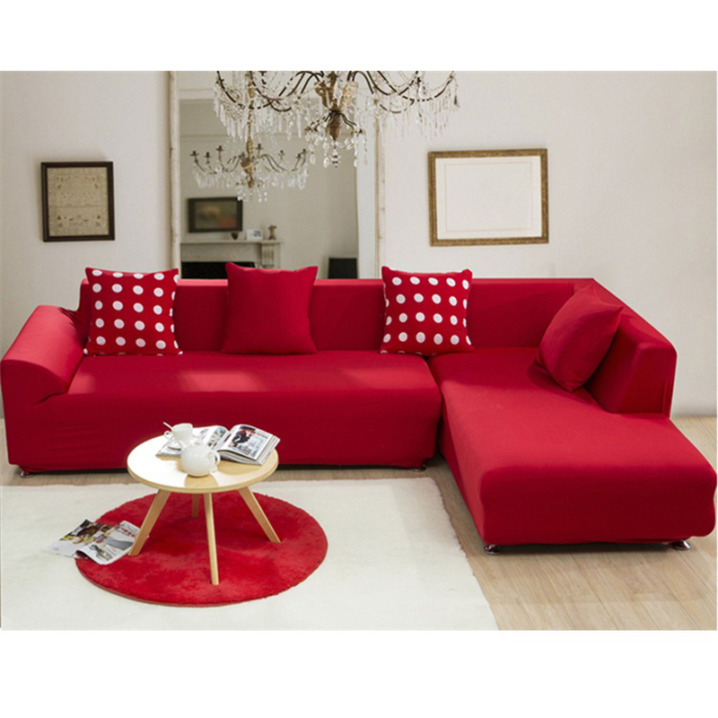 Sofa Cover Sectional Couch Covers L Shaped Sofa Slipcover Furniture  Protector Funda Fabric Cotton Corner Sofa Cover Home Textile In Sofa Cover  From Home ...
