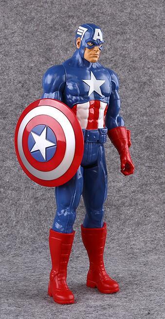 Новинка Marvel Мстители Веном Капитан Америка Железный человек ПВХ фигурка Коллекционная модель игрушки для детей Детские игрушки - Цвет: NO BOX