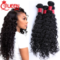 Brazilian Virgin Hair 3PCS Brazilian Deep Wave 8A Deep Wave Brazilian Hair, Virgin Brazilian Hair Weave Bundles 100% Human Hair