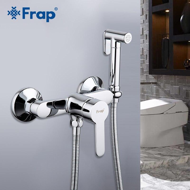 FRAP Bidets salle de bain bidet toilette pulvérisateur en laiton bidet laveuse mélangeur musulman douche ducha higienica robinet de toilette