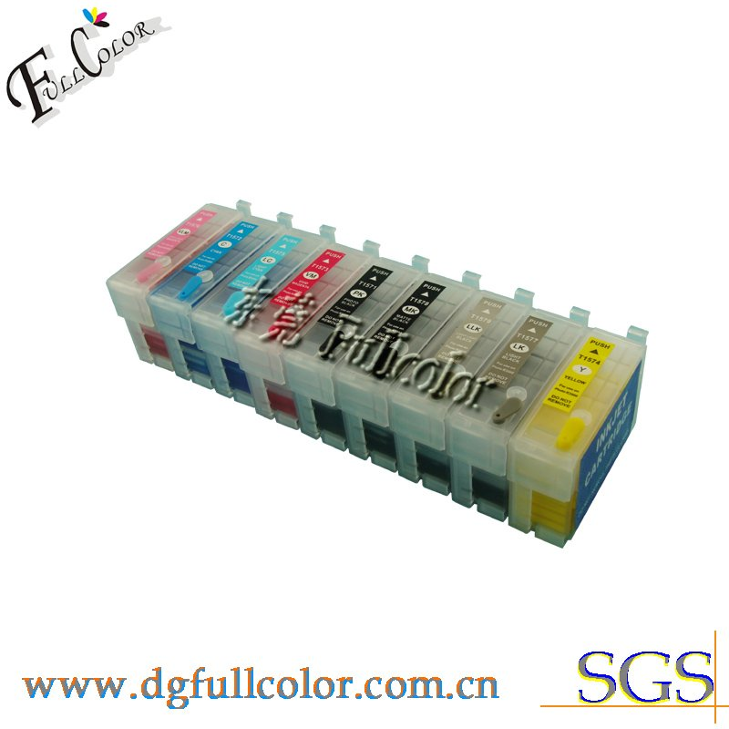 Free shipping Printer T157 Cartridge Refill Pigment ink for R3000 printer ink cartridge купить