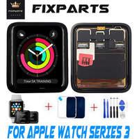 Esporte/safira para apple watch3 gps + celular display lcd tela de toque assembléia substituição para apple assistir série 3 lcd pantalla