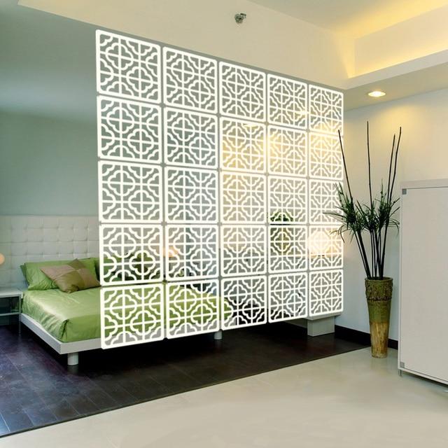 Acrylic Interior Design: Acrylic Screen Brief Vintage Square Acrylic Decoration