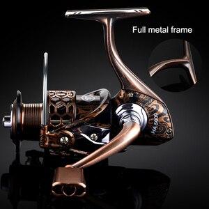 Image 3 - YUYUคุณภาพโลหะเต็มรูปแบบตกปลาReel Spinning 1000 2000 3000 4000 5000 7000 Spinning Reelสำหรับปลาคาร์พFishing Spinning Reel