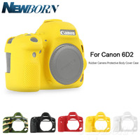for Canon 6D2 Soft Silicone Rubber Camera Protective Body Case Skin for Canon 6D MARK II 6DII 6D2 Camera Bag Protector Cover