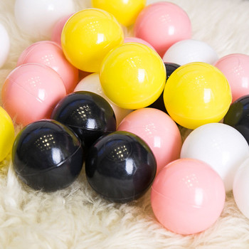 100 pcs/lot Eco-Friendly Colorful Ball Pits Soft Plastic Ocean Ball Water Pool Ocean Wave Ball Swim Toys For Children Kids Baby  1