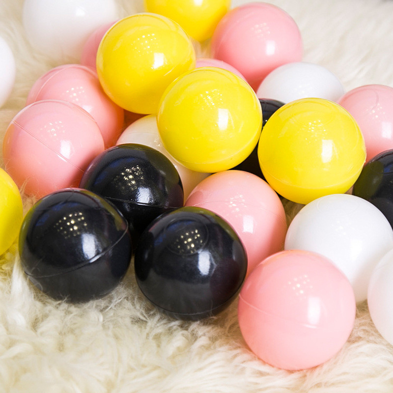 50/100 Pcs Eco-Friendly Colorful Ball Pits Soft Plastic Ocean Ball Water Pool Ocean Wave Ball Swim Toys For Children Kids Baby