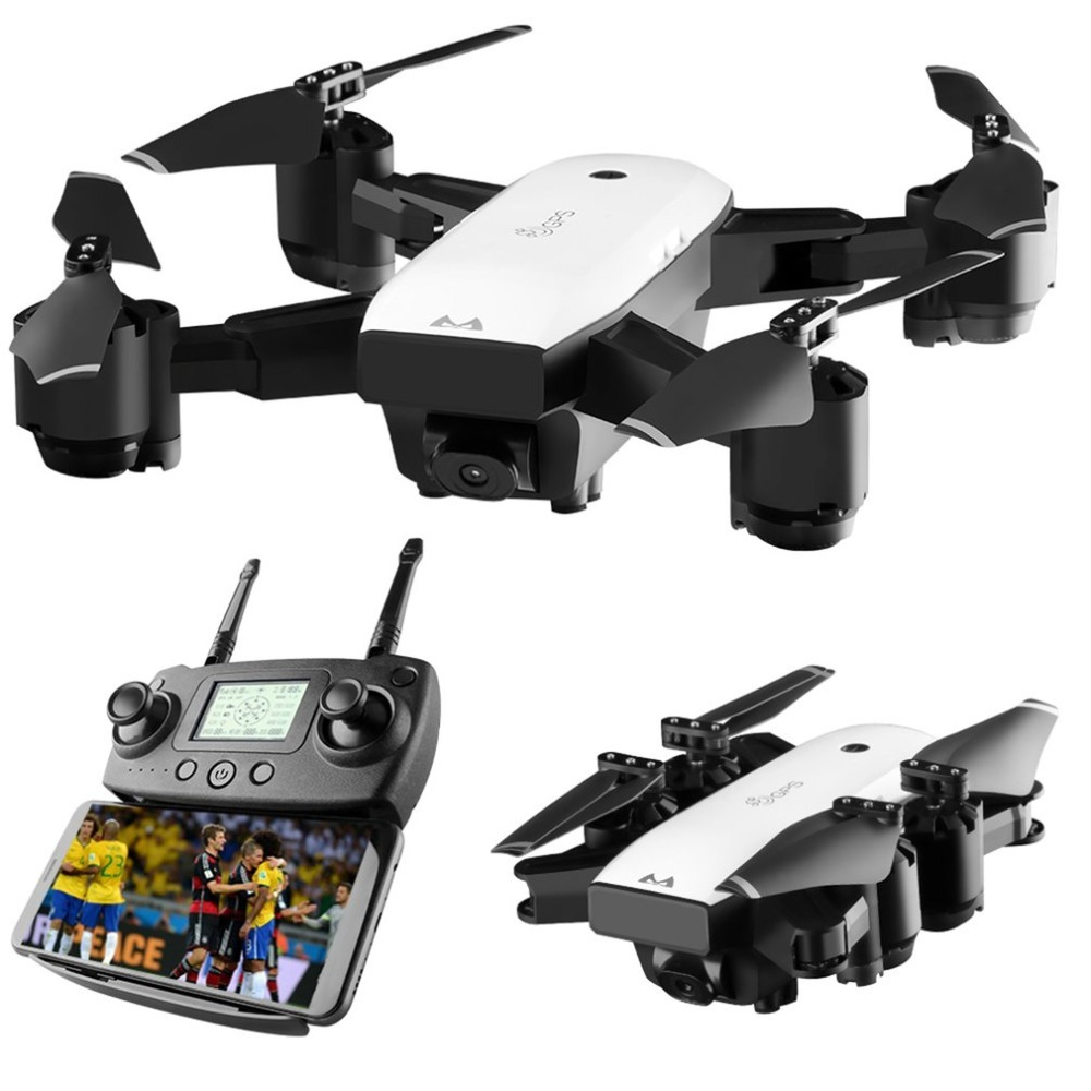SMRC S20W S20 6 Axles Gyro Mini GPS Rc Drone With 110 Degree Wide Angle Camera 2.4G Altitude Hold RC Dron Quadcopter Toys Gift