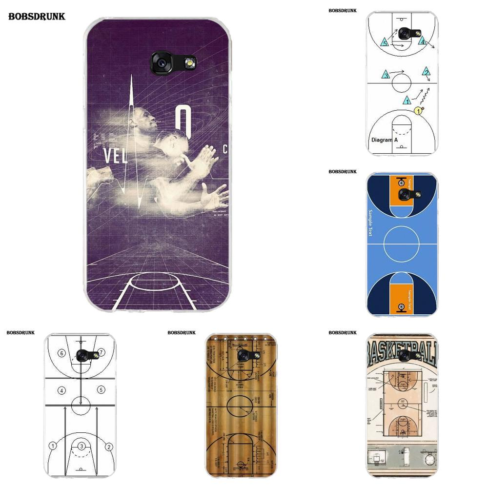 Ejgroup Basketball Court Diagram For Samsung Galaxy A3 A5 A7 J1 J2 S Circuit J3 J5 J7 2015 2016 2017 Tpu New Style Unique In Half Wrapped Case From Cellphones