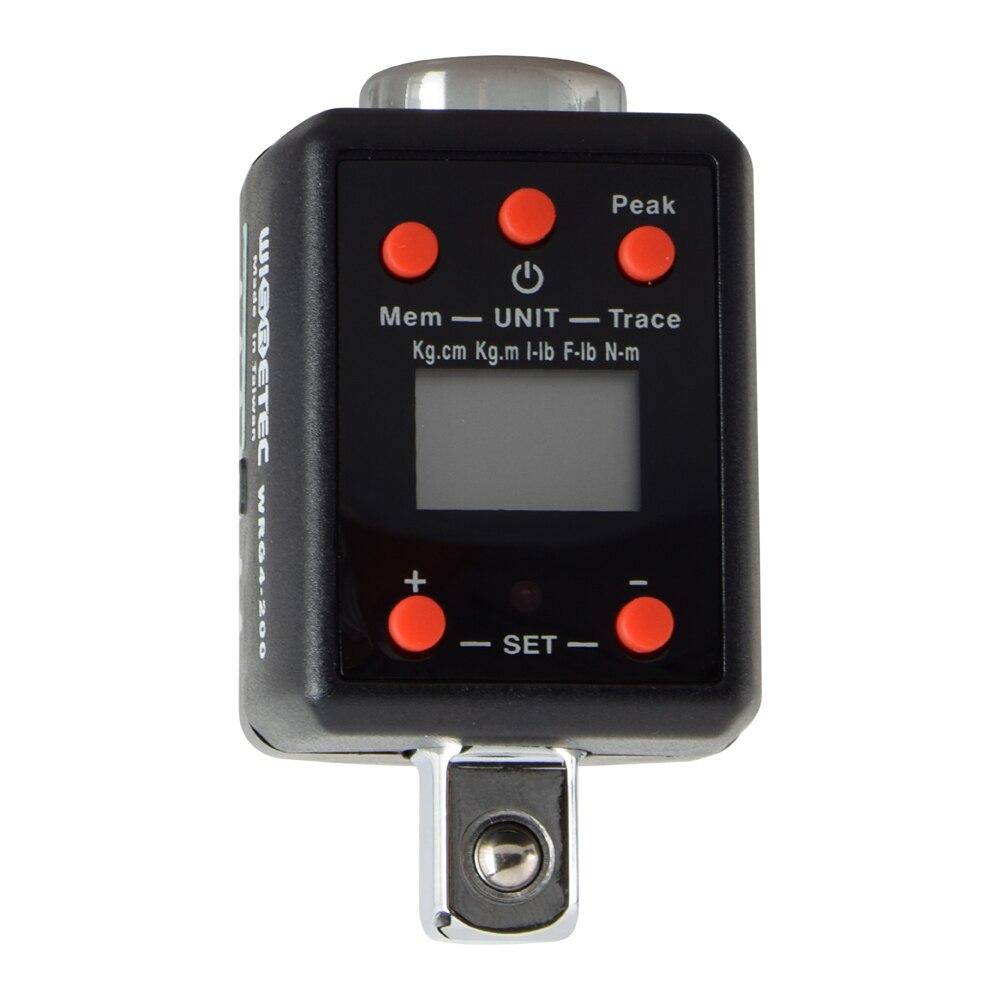 Electronic Digital Torque Wrench Torquemeter Adjustable Torque Meter 10 200Nm Professional Universal Torque Wrench Bike Repair