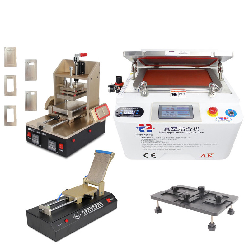 цена 5in1 Frame Laminating Machine+ Laminator Machine+Film Lamination Machine+ Universal Align Mould Mobile Phone Repair Set