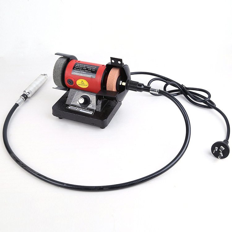 150W Polishing Machine Bench Buffer Polisher Grinder Buffing Wood Chisel Carving Engraving Machines bench grinder stavr sze 150 250 m