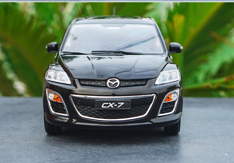 1//18 Scale Mazda CX-7 CX 7 SUV Black Diecast Car Model Collection Toy Gift
