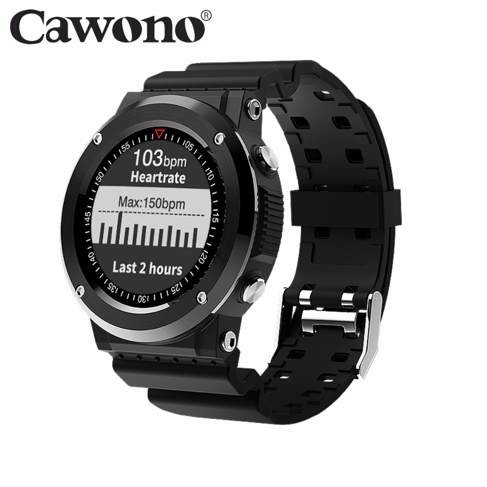 Cawono CN3 Bluetooth GPS MT2523 Smart Watch Sport Heart Rate Smartwatch reloj inteligente Anti-lost for iPhone Android PK EX18 bluetooth smart watch smartwatch case for apple iphone android smart phone reloj inteligente pk apple watch