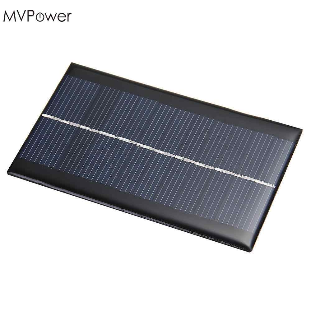 MVPower Mini 6V 1W Solar Power Panel Solar System Module DIY Cell Phone Chargers Portable Solar Panel Bank