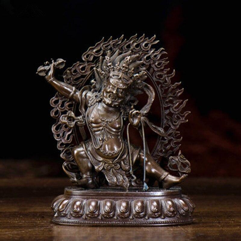 Tibetan Buddhist Seiko Tantric Pure Copper Vajrapani / Trend To Bodhisattva Buddha Statue R67